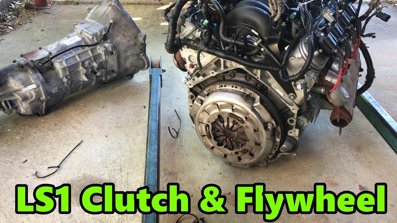 Trans, Clutch, fly wheel removal - LS1 240sx (S14) drift build (EP 2)
