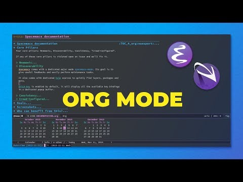 Learn Emacs Org Mode: Spacemacs Intro Tutorial