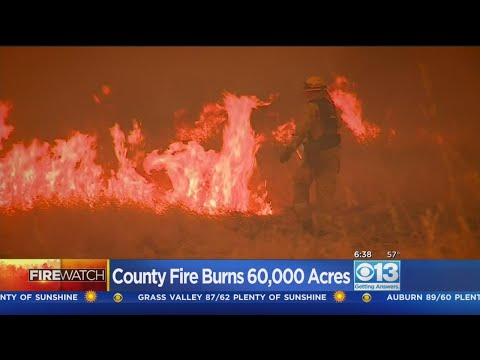County Fire In Yolo County Continues To Grow