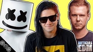 Nuevo Track de Skrillex, Drama de Armin van Buuren, iHeart Music Awards y más - NOTICIAS EDM