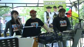AKCENT LIVE - Na tej Detve - mix