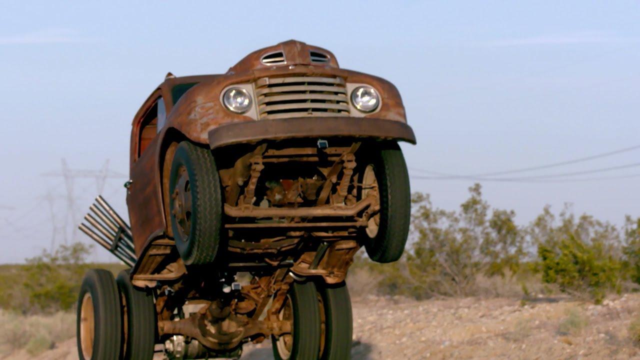 Build A Ford Truck >> Wheelstanding Dump Truck! Stubby Bob's Comeback - Roadkill Ep. 52 - YouTube