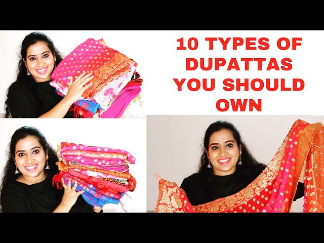 Indian dupatta fashion tips and types-tnilive fashion