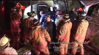 Cincinnati Fire Department video for the Rotary Club luncheon 2015