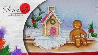 Pintura em Tecido Casa de Biscoito – Aula 231