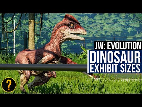 A Visual Guide To Dinosaur Exhibit Requirements In Jurassic World: Evolution
