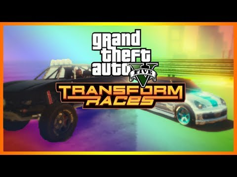 NEW GTA 5 TRANSFORM RACES!!! GULLIBLE IS IN THE DICTIONARY!!! (GTA 5 DLC)