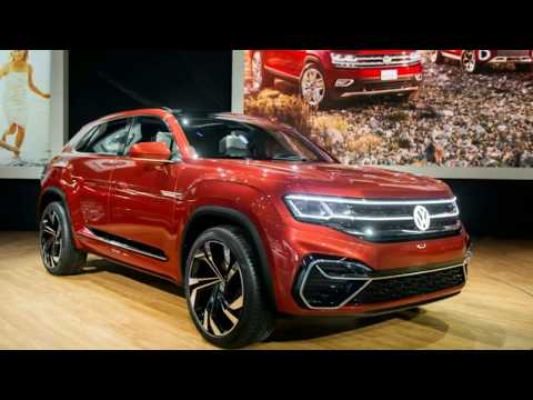 Volkswagen Atlas Cross Sport concept shows plug in hybrid possible in future