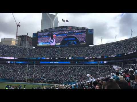 Carolina Panthers Ricky Proehl Keep Pounding Drum - 1/17/16
