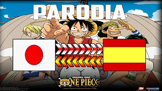 "ONE PIECE! - Parodia Opening 1 traducción al Español - ""We are"""