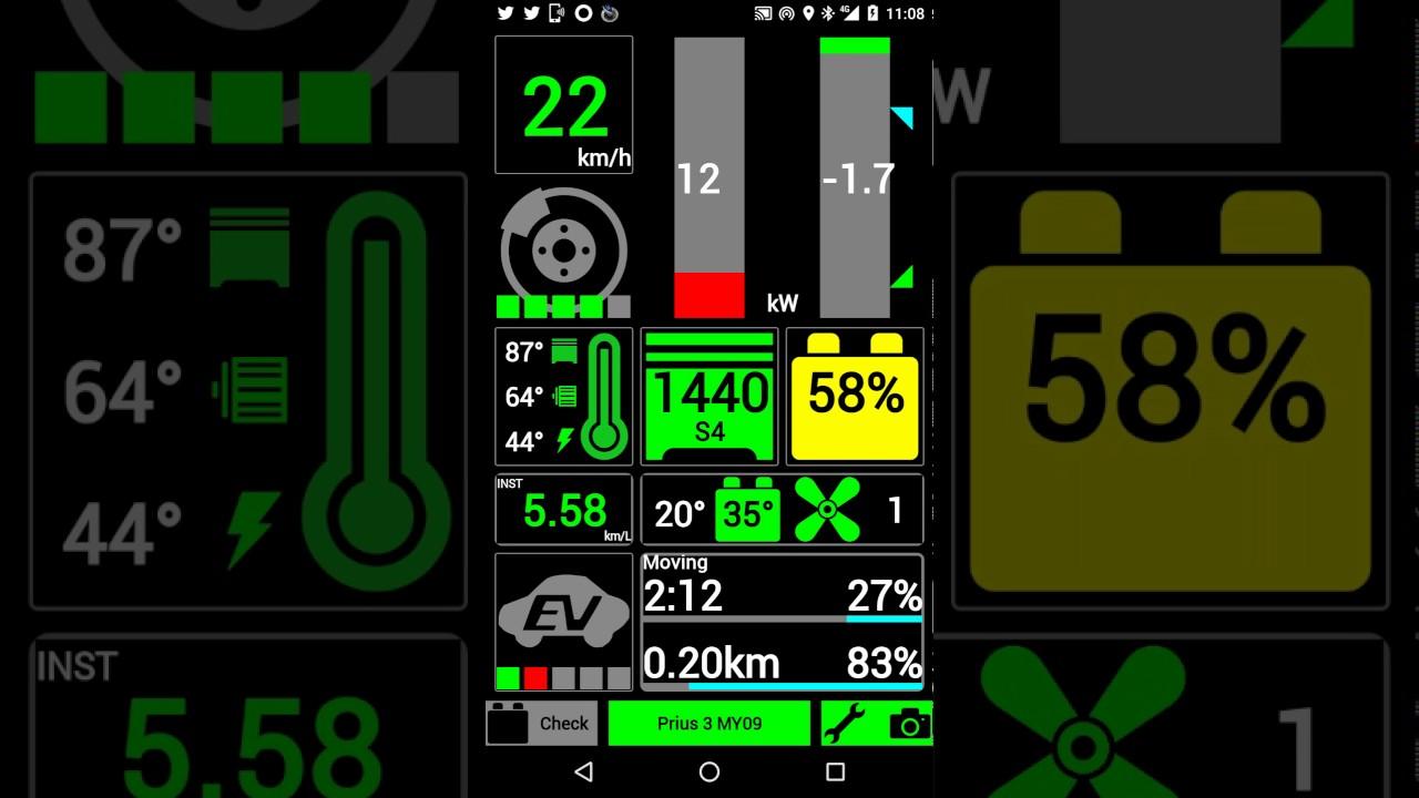 Check Hybrid System P0a7f Prius Error