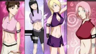 Naruto sexy girls