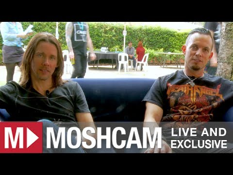 Alter Bridge talk high school bands and career highlights (Myles Kennedy & Mark Tremonti) | Moshcam