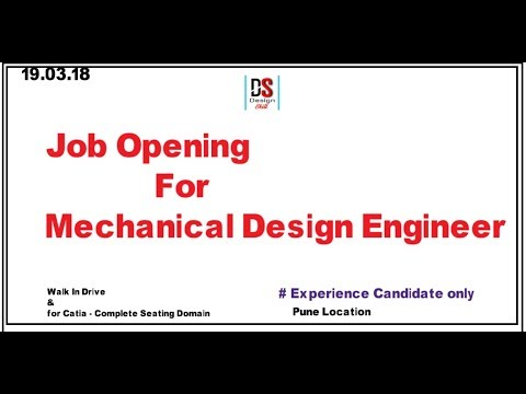 Job opening for Mechanical Design Engineer