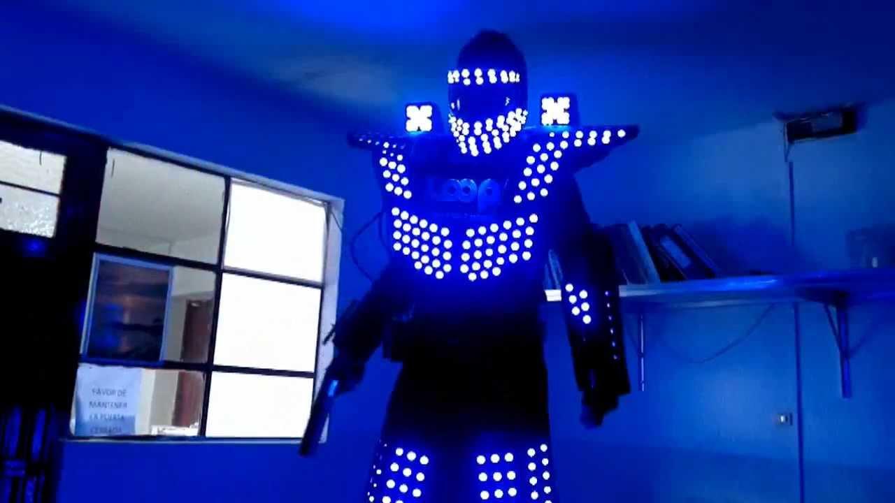 Sonoyta Sonido Booom Promocion Robot Led Youtube