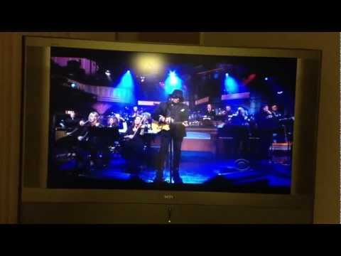 Rodriguez makes debut on Letterman