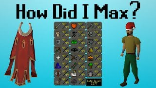 [OSRS] How I Maxed in OSRS