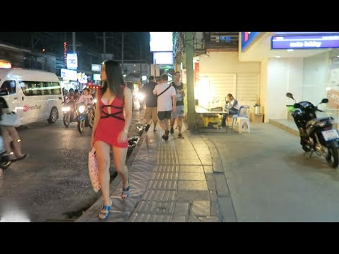 Phuket Night Scenes - Patong Night Walk - 2016