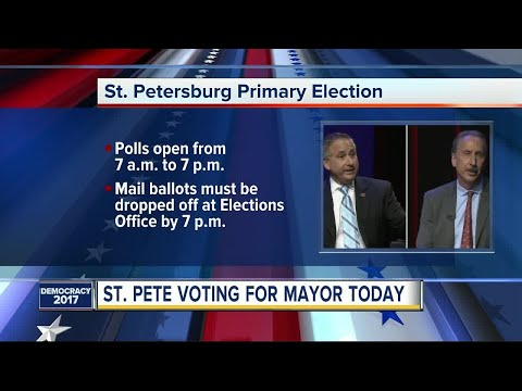 St. Petersburg Primary Election on Tuesday