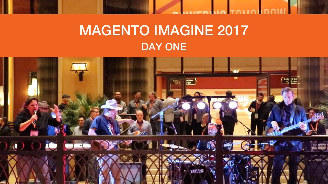 annhud: Oh my goodness - there's another video of the #MagentoCommunity band with @benmarks @SteveAtMagento https://t.co/npM0bUKxVm #Magentoimagine