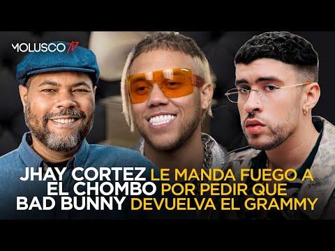 Jhay Cortez manda fuego a El Chombo por pedirle a Bad Bunny que entregue el Grammy 😱