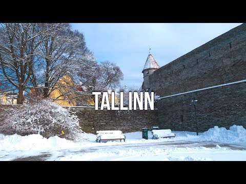 First Day Walking in Tallinn - Estonia 2018