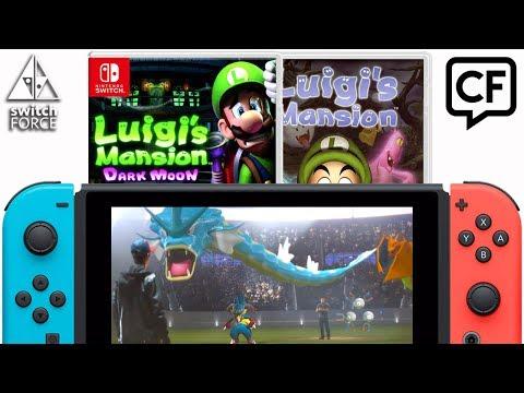 Pokemon VR Game Talk, Switch Trauma Center?, Luigi's Mansion DoublePack | CommentForce #22