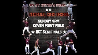 Second Round, Playoff Baseball: Memorial Tigers vs. The Saint Peters Prep Marauders