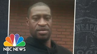 Floyd Told Officers He Couldn't Breathe At Least 28 Times, New Bodycam Video Reveals | NBC News