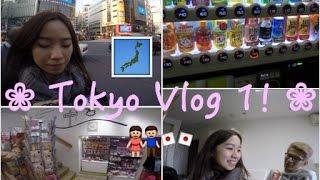 tokyo japan vlog 1 vending machines new apartment shibuya crossing