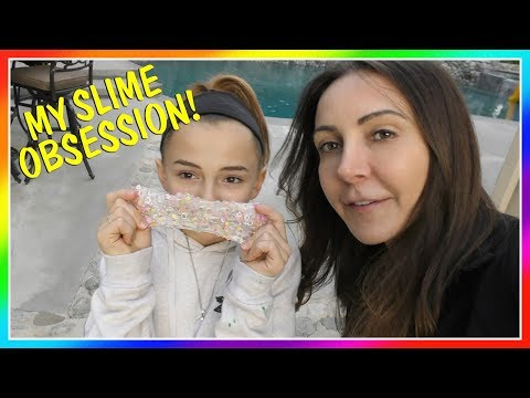 KAYLA IS OBSESSED WITH MAKING SLIME! | We Are The Davises