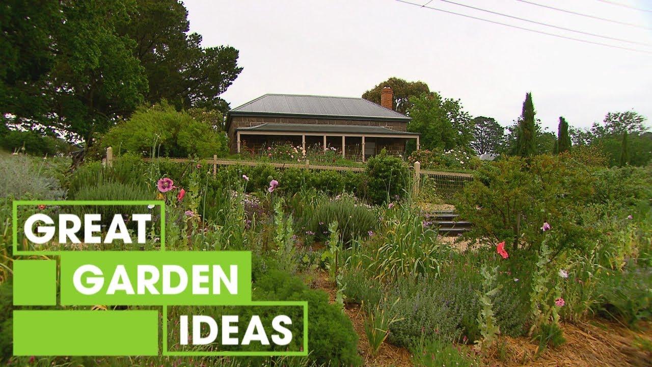 Australian Cottage Garden Inspiration Gardening Great Home Ideas Youtube
