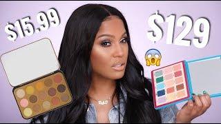 Natasha Denona Tropic Palette VS BH Cosmetics Gilded Palette Review thumbnail