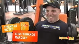 Fernando Marques - Treino de Bíceps