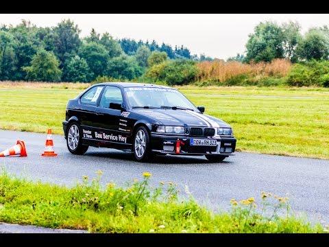 9. & 10. SMC Clubslalom - Onboard - Alexander Brase - BMW E36 323ti