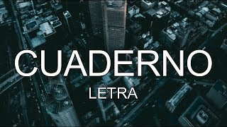 Dalex - Cuaderno (Letra) ft. Nicky Jam, Sech, Justin Quiles,...