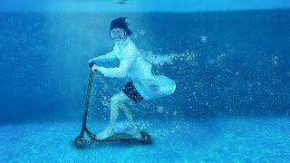 Поедет ли электросамокат под водой?