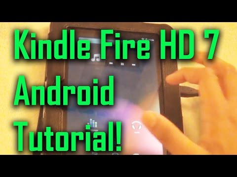 How to Install android 4.4 on Kindle Fire HD 7 Full