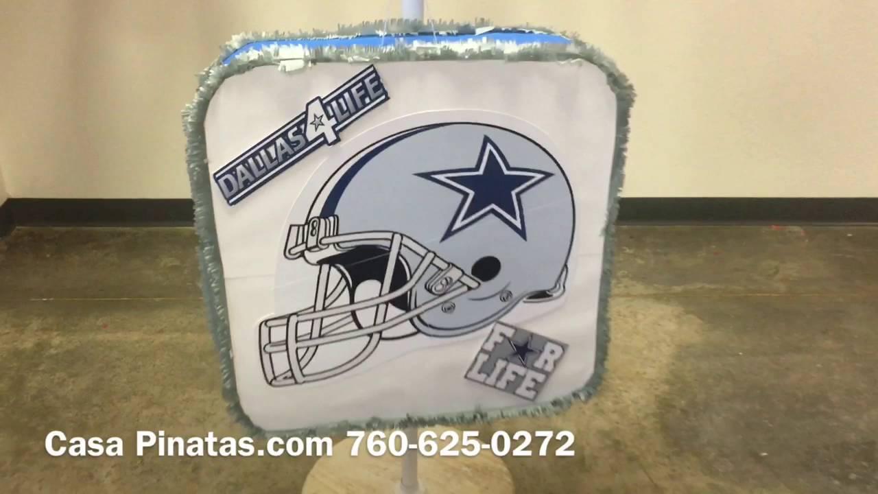 Dallas Cowboys Pinatas Birthday Pinata