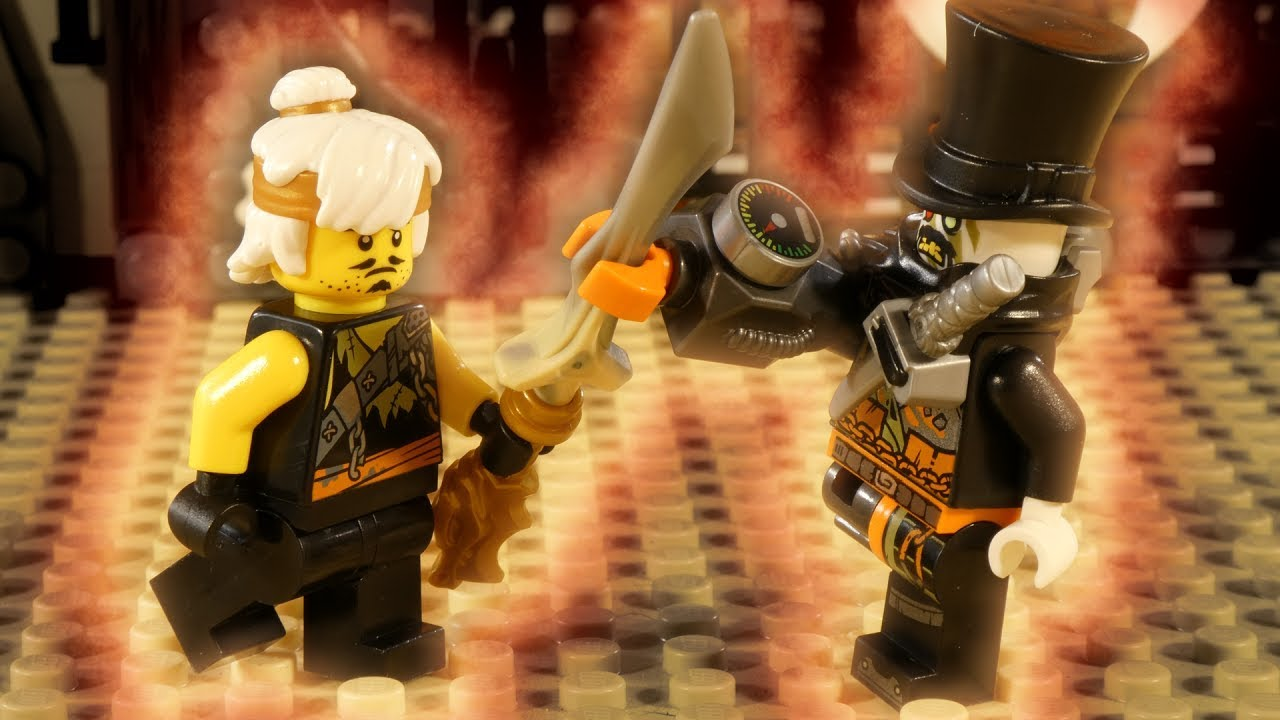 LEGO NINJAGO HUNTED PART 3 - TRAILER - QUEST FOR THE DRAGON ARMOUR