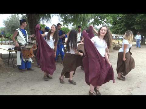 """Dança folclórica em Mouriscas (Portugal) no """"Festival Mourisco"""" 2017 - dança 2-"""