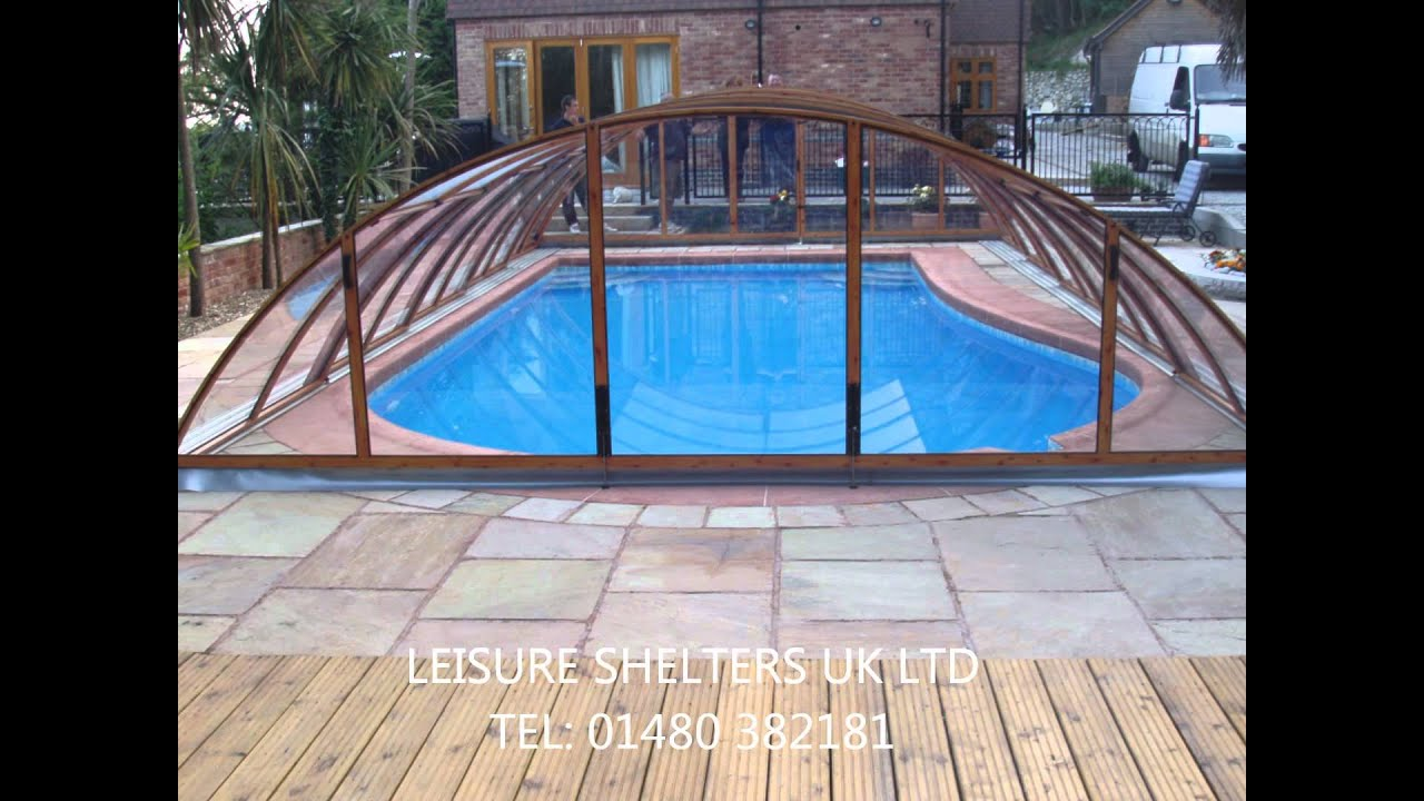 Excellence swimming pool enclosure from, Leisure Shelters UK Ltd - Tel:  01480 382181