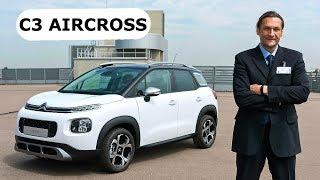 Citroen C3 Aircross, первая встреча КлаксонТВ