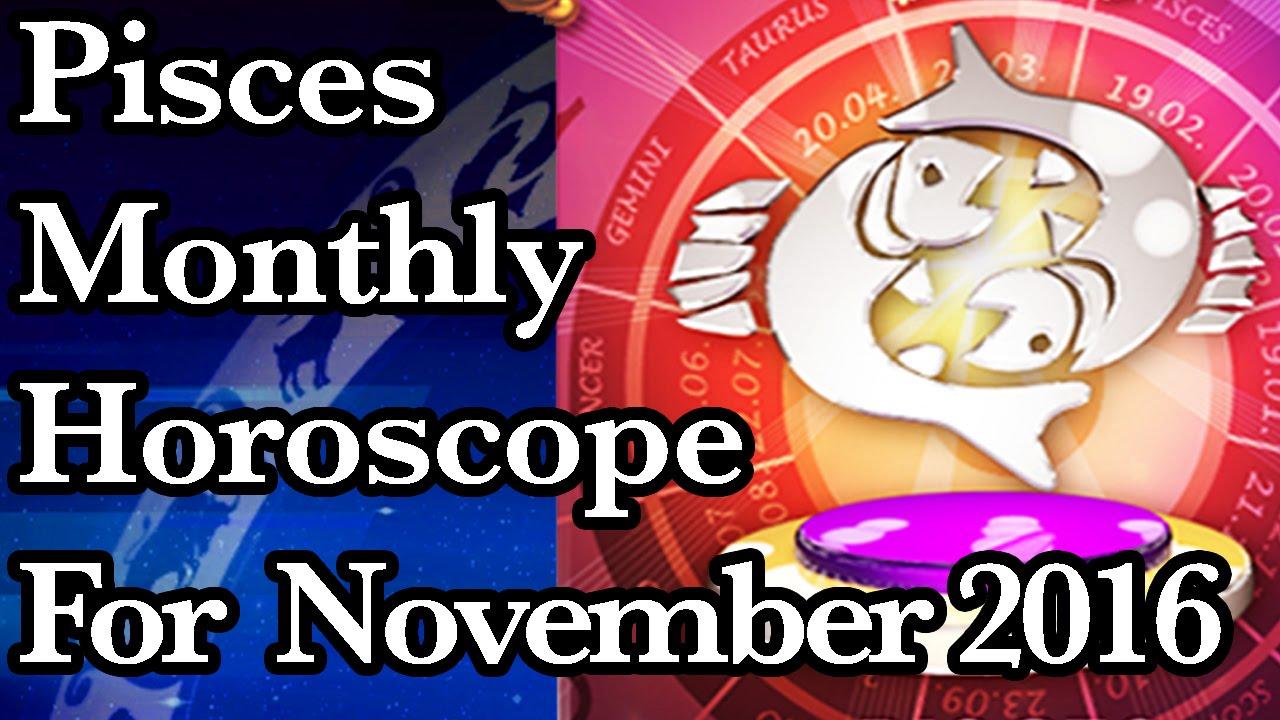 november pisces monthly horoscope