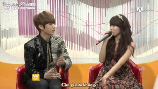 [Vietsub][FULL] 111208 Trouble Maker @ Mnet Wide Open Studio by Trouble Maker Vietfans [HAPPYJSDAY]