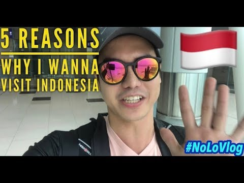 5 REASONS WHY I WANNA VISIT INDONESIA | HONG KONG TO JAKARTA FLIGHT | NoLo Vlog