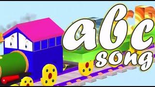 Alphabet Songs for Children | ABC Train | Kids Animation Songs