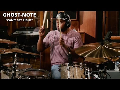 """Meinl Cymbals Ghost-Note Drum Video """"Can't Get Right"""""""
