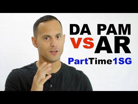 AR vs DA PAM - Army National Guard