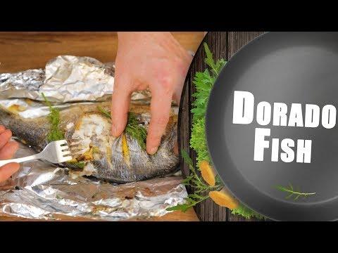🐬How To Make Dorado Fish? Home Recipe | Tasty Video